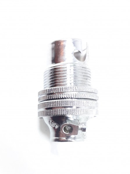 chrome lampholder SBC - B15 10mm thread