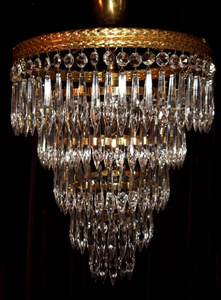 Five Tier Chandelier Icicle Lamp Shade