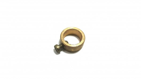 10mm Solid Brass Collar With Grub Screw