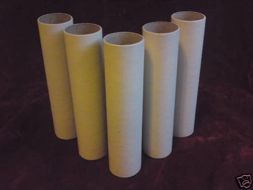 Candle tubes sleeves covers MAGNOLIA card 85 x 24mm lamp holder cover