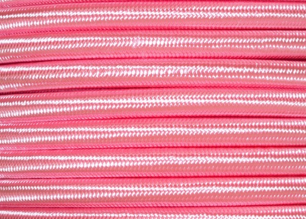 Round 3 Core Silk Electric Wire Salmon Pink 0.50mm