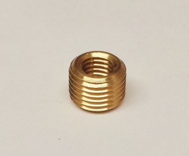 SOLID BRASS REDUCER 10MM MALE TO 1~4