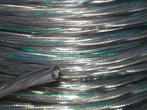 Clear 3 Core PVC  Electrical Cable 0.75mm Pack of SHORT LENGTHS
