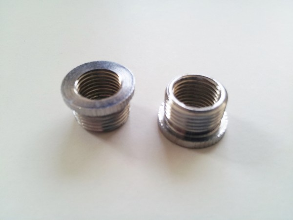 Chromed Solid Brass Reducer sold in singles