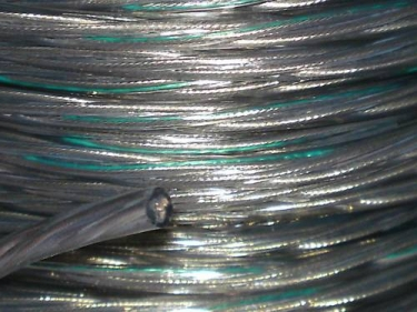 Clear 3 Core PVC  Electrical Cable 0.75mm