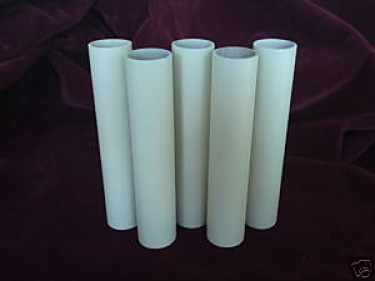 Candle Tubes-sleeves Magnolia Card 150mm x 24mm