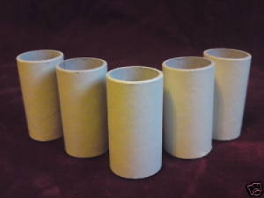 candle tubes sleeves covers MAGNOLIA card 50mm x 26mm