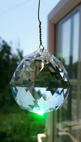 Crystal Suncatcher Hanging 40mm Crystal Ball