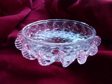 Hand Blown Murano Bottom Bowl