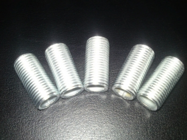 Hollow tube threaded rod, allthread M10 20mm length x 5 pieces