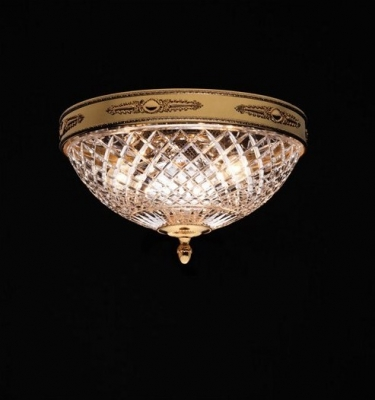 full cut crystal ceiling light