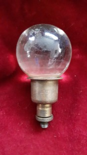 Chandelier glass ball finial antique chandelier parts