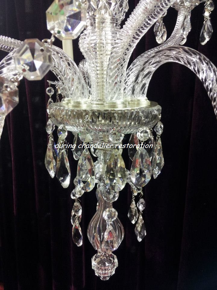 Chandelier restoration chandelier repair and chandelier cleaning that we are able to keep our chandelier restoration costs as minimal as possible other chandelier restoration companies may have to purchase items from aloadofball Choice Image